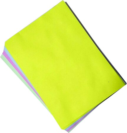 A4 Paper Colour Green/yellow/red/Blue