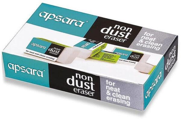 APSARA NONDUST ERASER REG Pack of 20