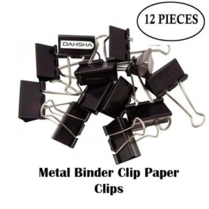 BINDERCLIP 32MM 12 PCS