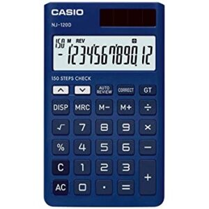 CASIO POCKET CALC 12D NJ120D