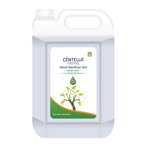 CENTELLA- Hand Sanitizer 70% Fresh Lime Gel 5ltr