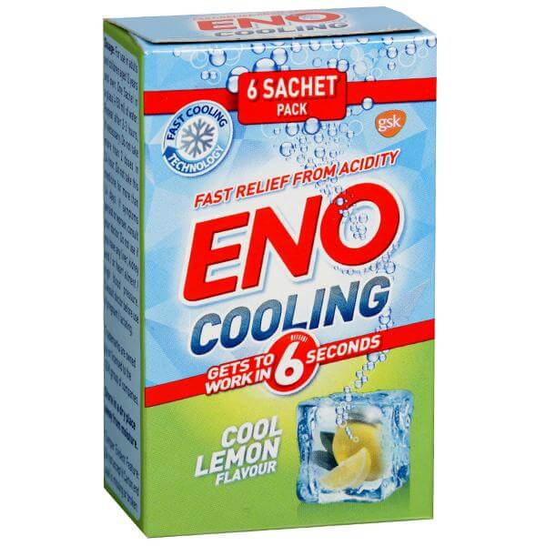 Eno Cooling - 5 g (6 Sachets, Cool Lemon)