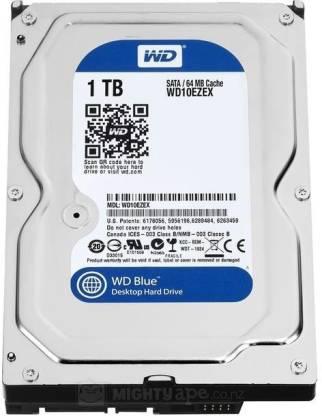1 tb hard disk of western digital