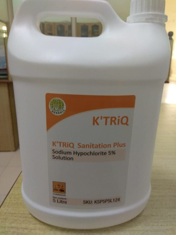 K'TRiQ-Sanitation Plus Sodium Hypochlorite 5%