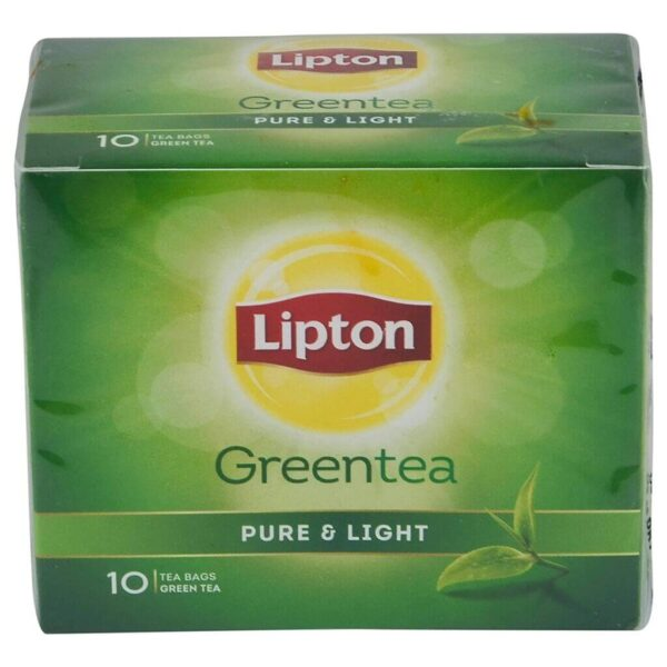 Lipton Pure & Light Green Tea Bags, 100 Pieces