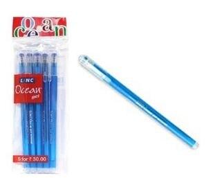 Linc Ocean Gel Pen Blue (Pack of 5)