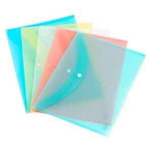 MY CLEAR BAG THIN PACK of 3