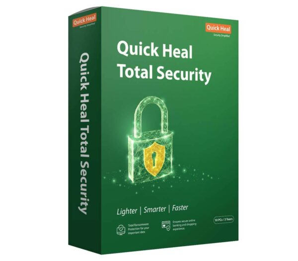 Quick Heal Total Security 10 Users 3 years