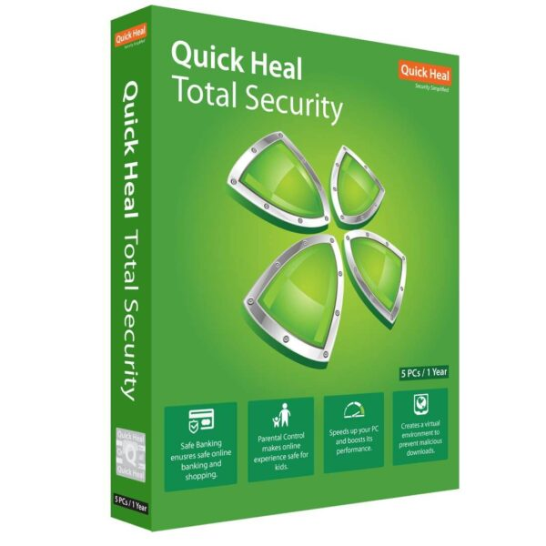 Quick Heal Total Security 5 Users -1No.