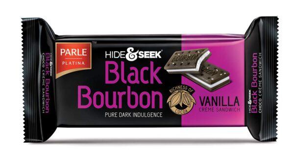 PARLE H&S BLACK BORBON VANLA 100g