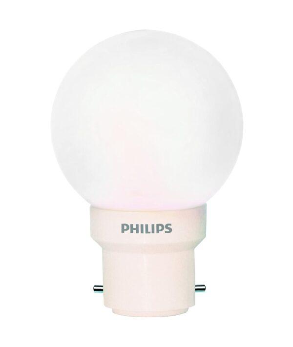 Philips Deco Mini 0.5-Watt B22 Base LED Bulb (White)