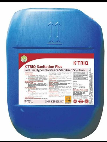 K'TRiQ-Sanitation Plus Sodium Hypochlorite 6%