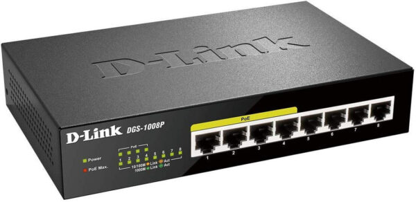 D-Link Switch (POE) 8Port